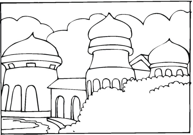 indonesian coloring pages - photo#15