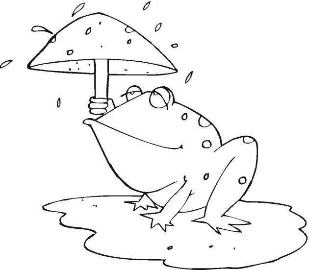 cartoon frog coloring pages - photo#46