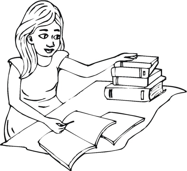 student coloring pages - photo #5