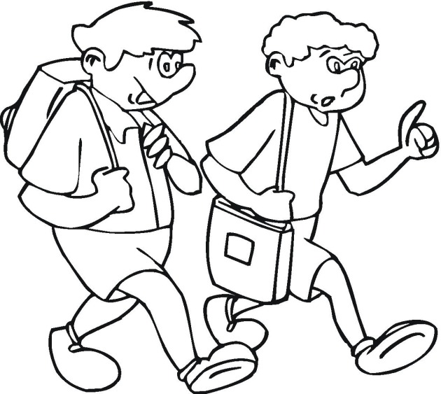 Colouring Pages Educational Free : Studen colouring pages