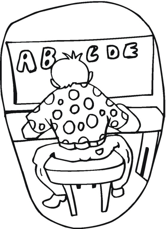 student coloring pages - photo #28
