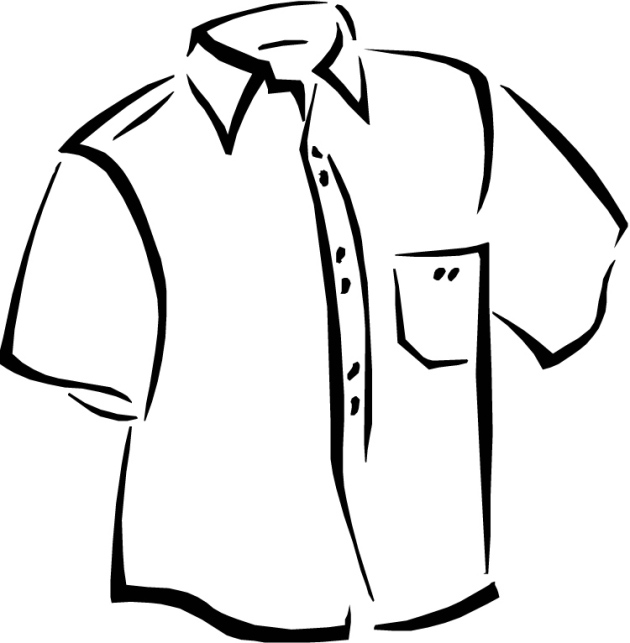 coloring pages of a shirt | Free Fashion & Beauty Coloring Pages