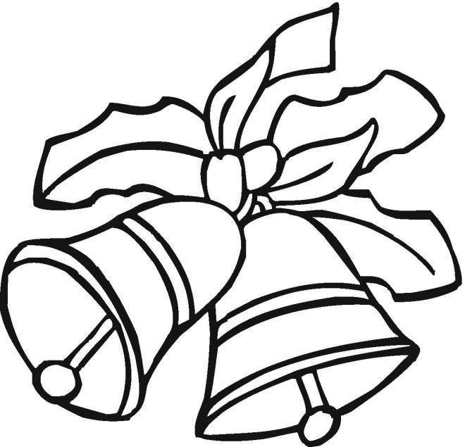 colouring pages of christmas bells free coloring pages of hand bells