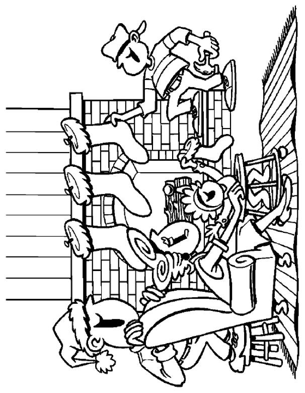 Free Coloring Pages Of Cartoon Network