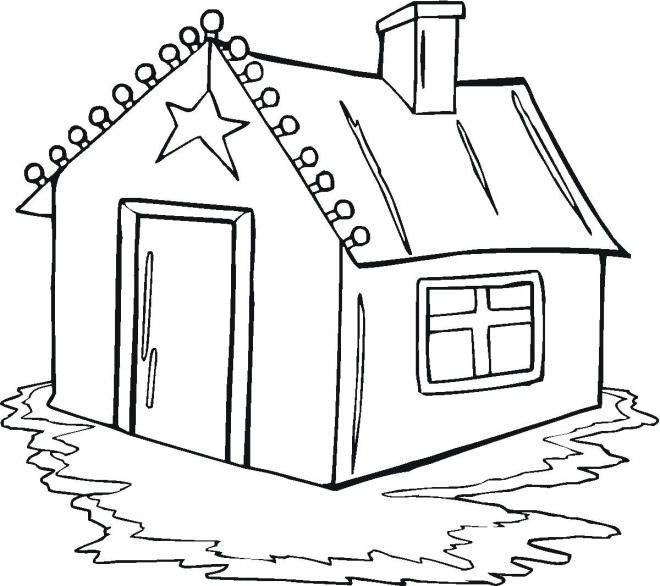 my home coloring pages - photo#15