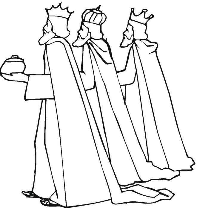 free christmas nativity coloring pages - photo#32