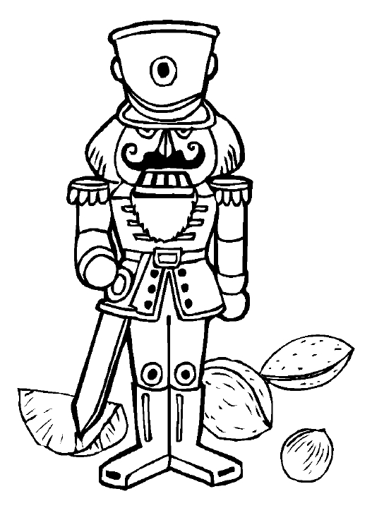 coloring pages of nutcrackers - photo#10