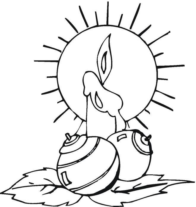 free christmas ornament coloring pages