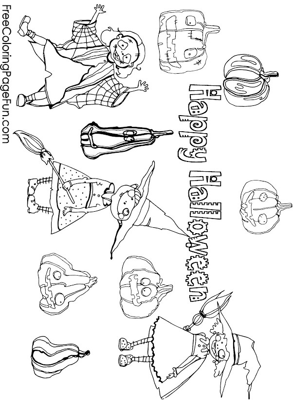 free collage coloring pages - photo#35