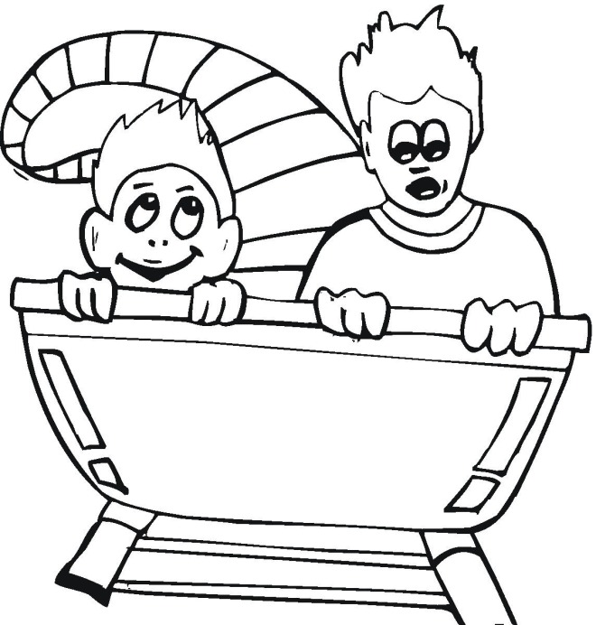 Free Carnival Coloring Pages County Fair Coloring Pages