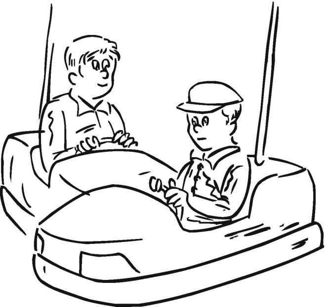 fun fair coloring pages coloring pages Carnival Coloring Pages to Print  Carnival Rides Coloring Pages
