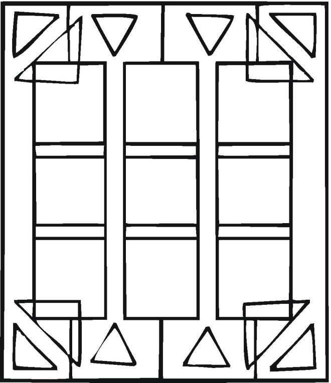new geometric coloring pages - photo#36