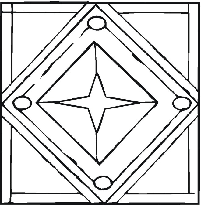 new geometric coloring pages - photo#10