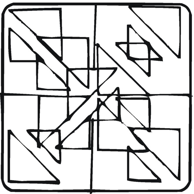 new geometric coloring pages - photo#13