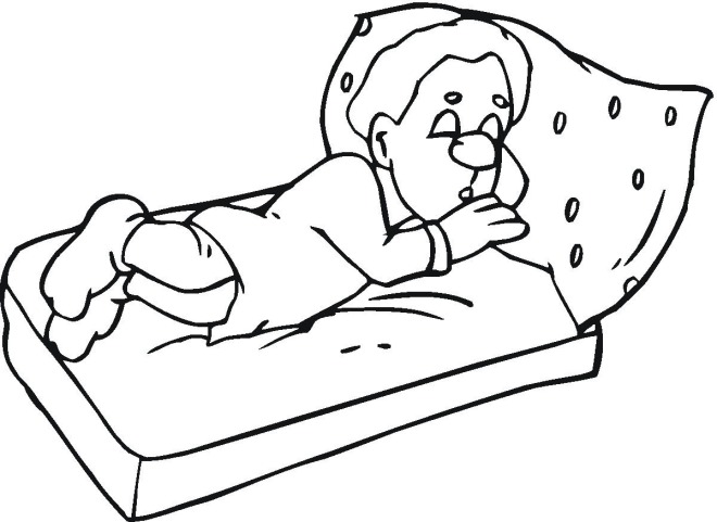 sleeping coloring page idiom to hit the sack hay english help online 39 s blog