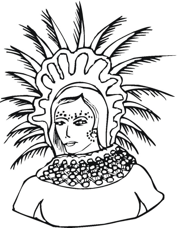 free cultural coloring pages - photo#25