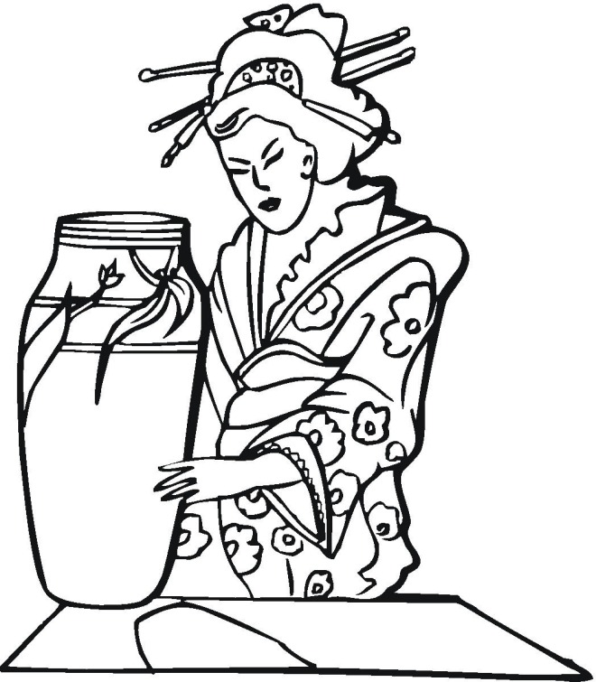 multi cultural coloring pages - photo#27