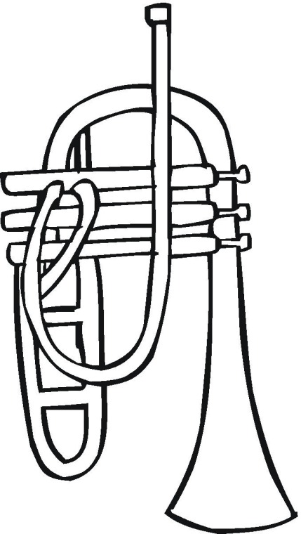 Splatoon coloring sheet printable coloring pages for Trumpet coloring page