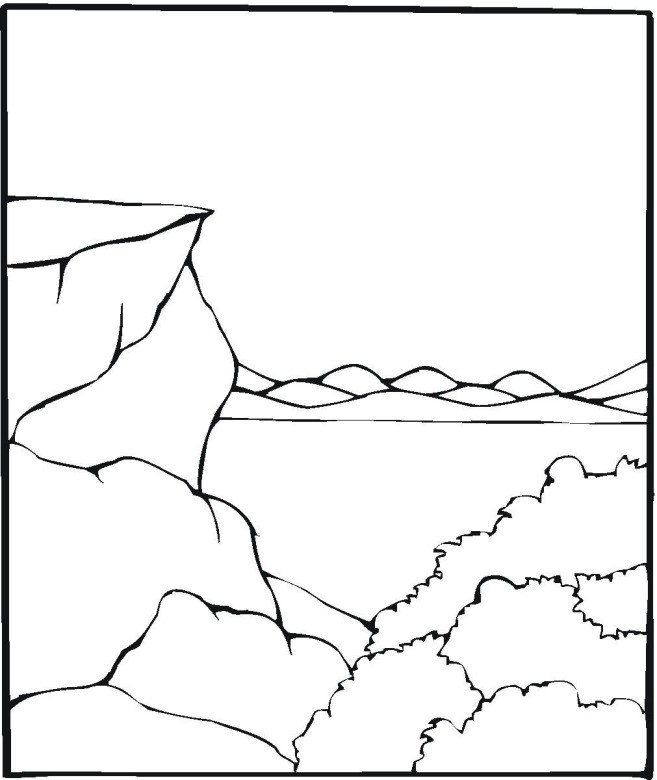coloring pages on lake - photo#22