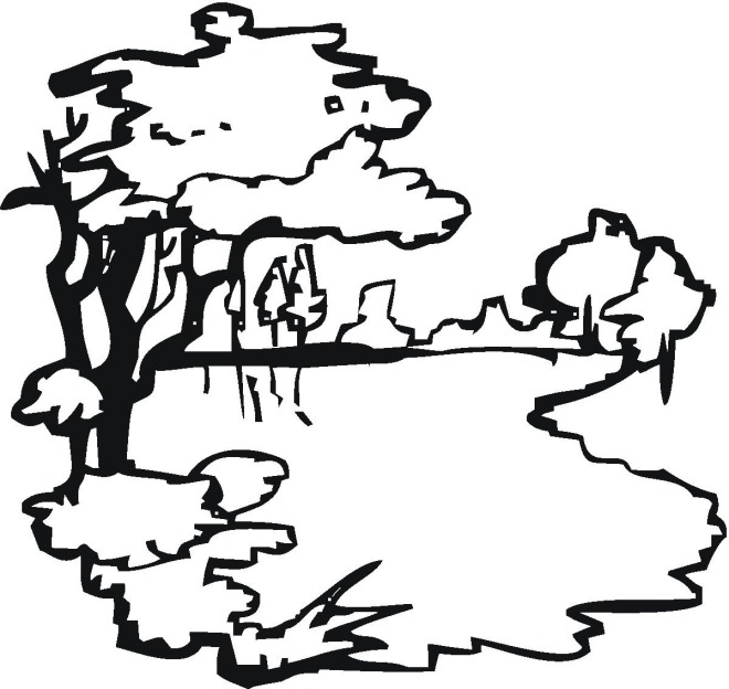 Lake 3 Coloring Page Click To Print Image Only Without Ads