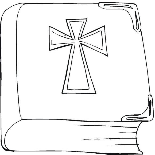 christian symbols coloring pages - photo#6