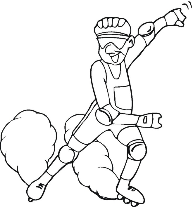 safety gear coloring pages - photo#10
