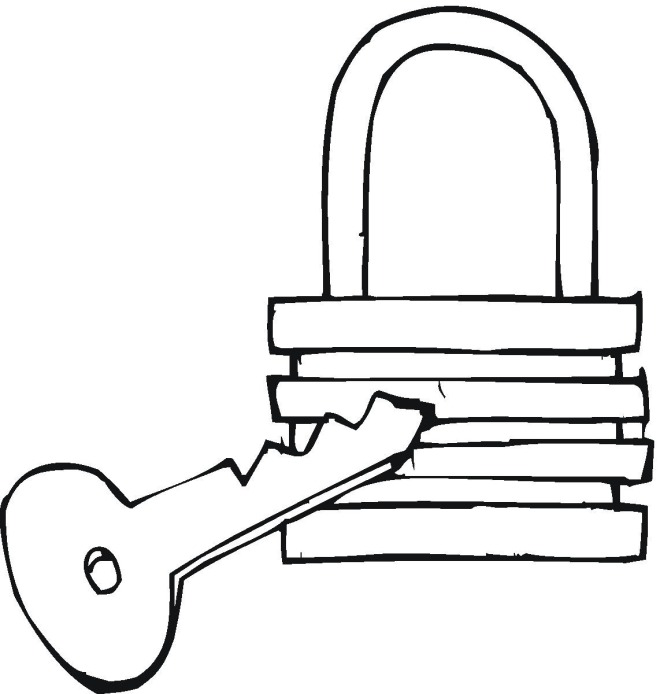 free keys coloring pages - photo#22