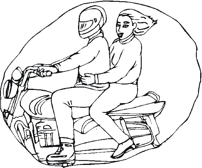 winter snowmobile coloring page click to print image only without ads