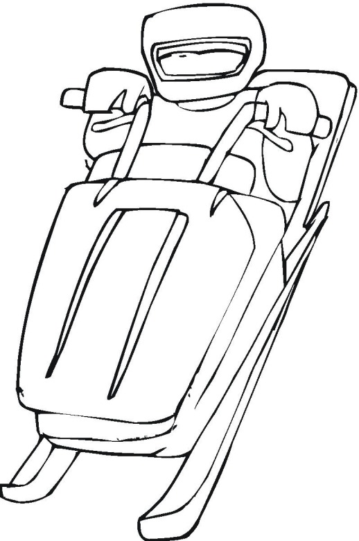 snowmobile coloring pages - photo#27