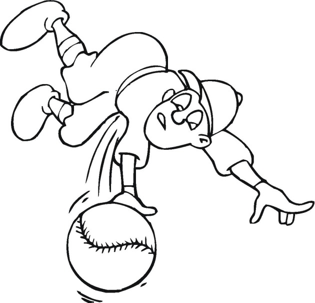 dad baseball coloring pages - photo#44