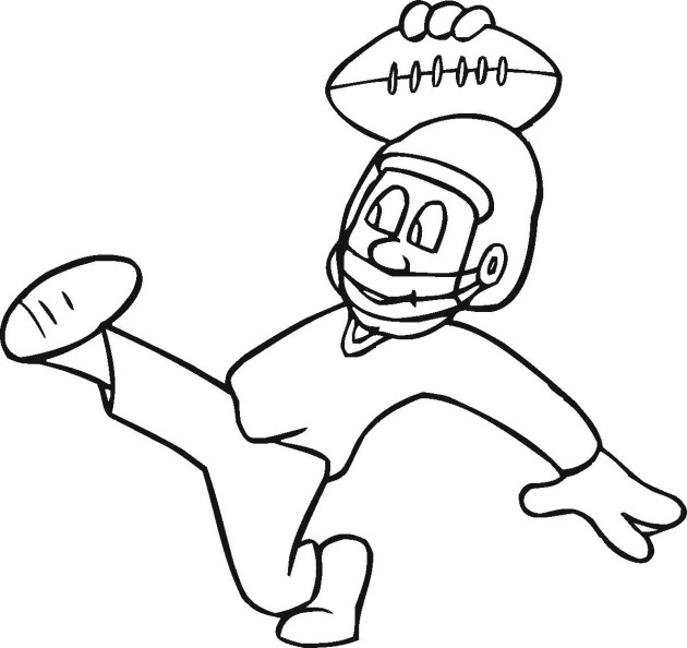 free coloring pages of patriots mascot