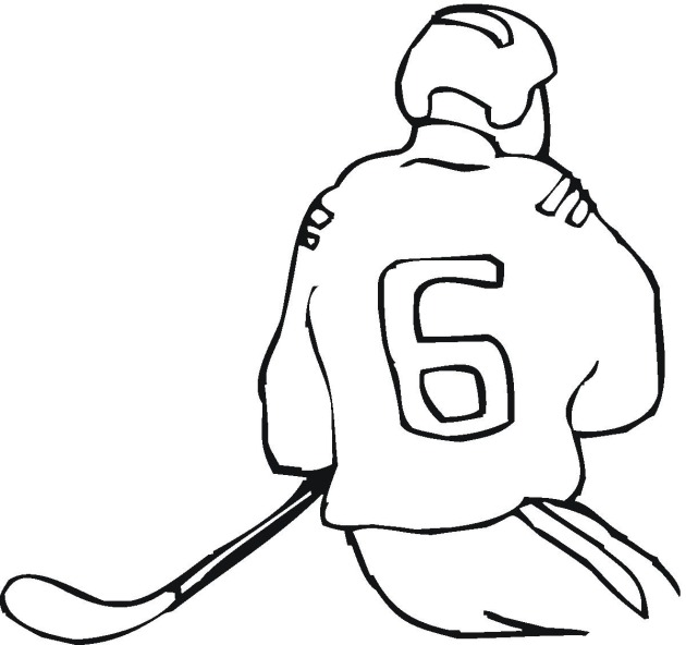 oilers coloring pages - photo #25