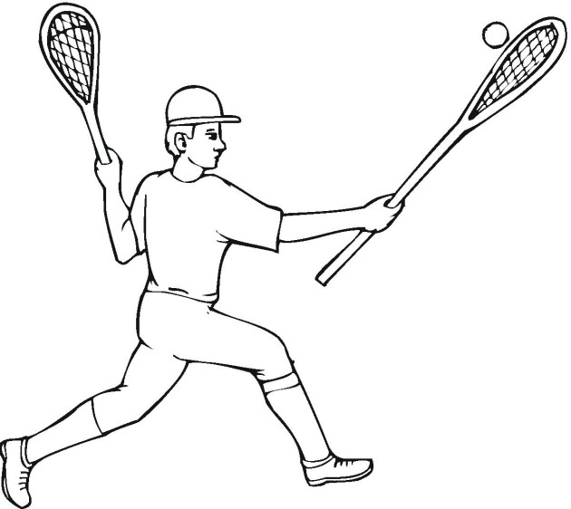 Lacrosse coloring pages | Coloring pages to download and print | 562x630