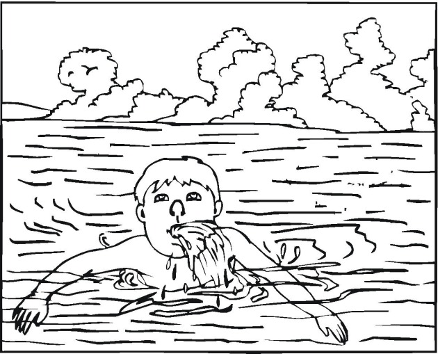 Free Swimming Coloring Pages Swimming Coloring Pages