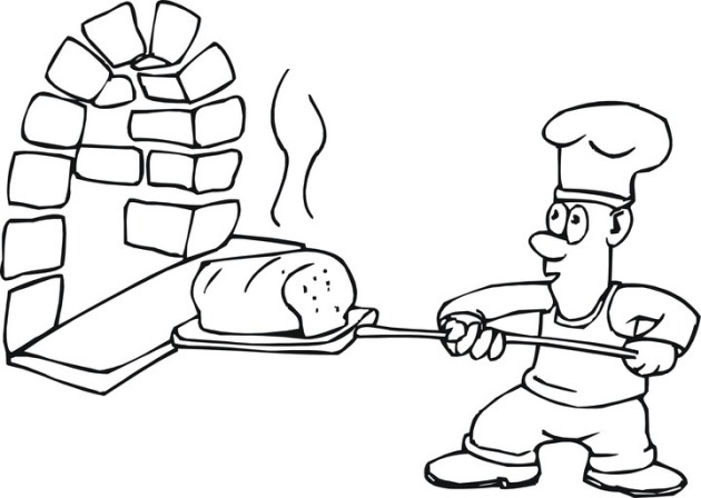 kitchen coloring pages - photo#24