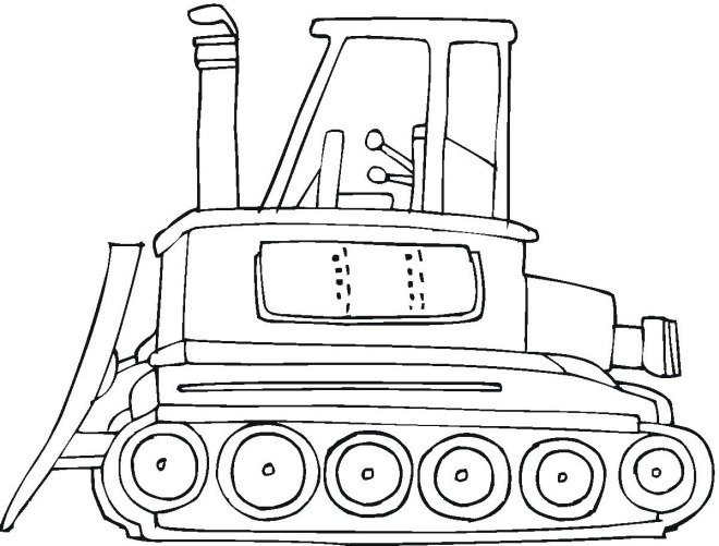 free construction vehicles coloring pages - photo#23