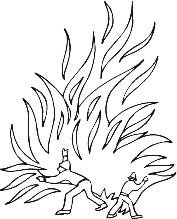 coloring pages of flames - flames coloring pages for adults coloring pages