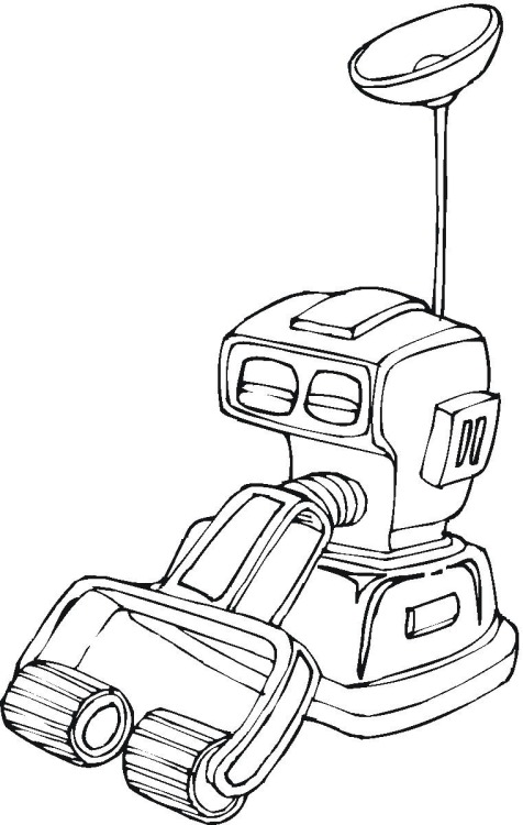 technology coloring pages - photo#8