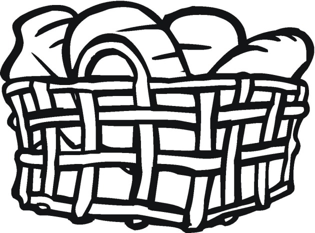 Free Bread & Cereal Coloring Pages
